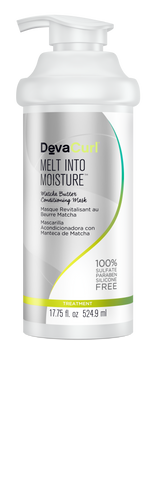 DevaCurl Melt Into Moisture Matcha Butter Conditioning Mask, 17.75 oz