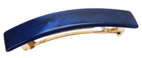 France Luxe Classic Rectangle Barrette - Nacro Ocean