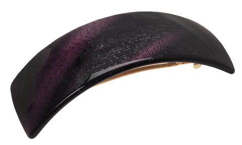 France Luxe Rectangle Volume Barrette, Galaxy Jet