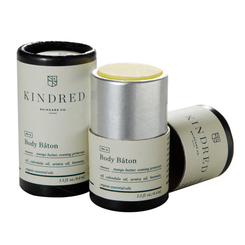 Kindred Skincare Co Body Baton - Woods, 1.5 oz