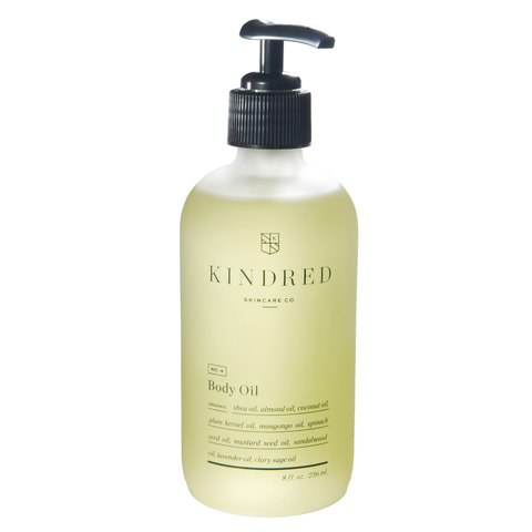Kindred Skincare Co Body Oil, 8 oz