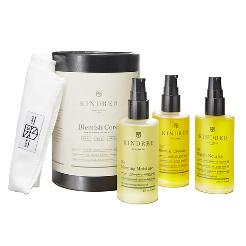 Kindred Skincare Co Blemish Core System