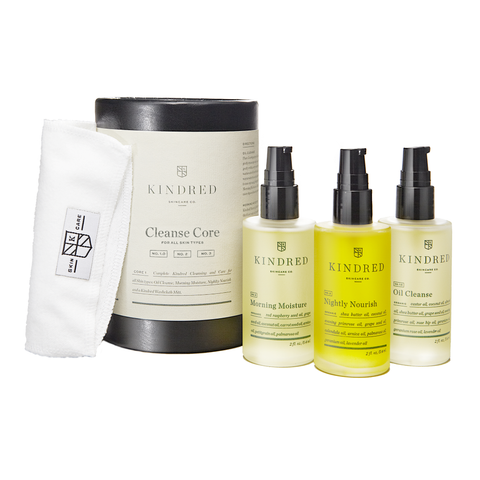 Kindred Skincare Co Cleanse Core System