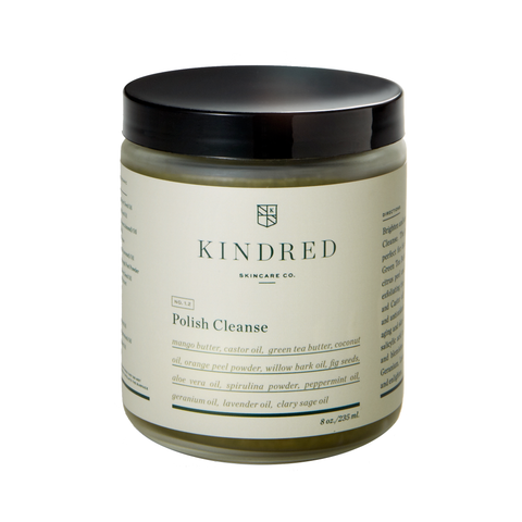 Kindred Skincare Co Polish Cleanse, 2 oz