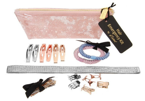 L. Erickson Lace Hair Emergency Kit, Rose Quartz