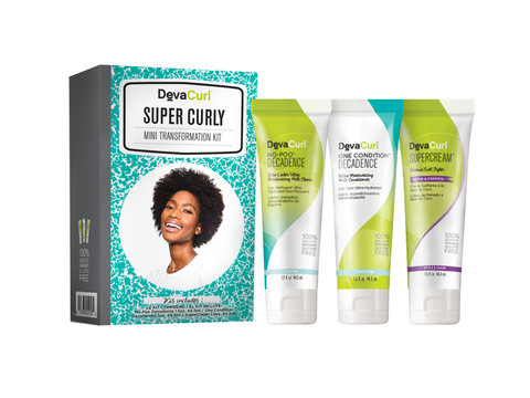 DevaCurl Mini Transformation Kit – Super Curly
