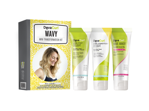 DevaCurl Mini Transformation Kit - Wavy