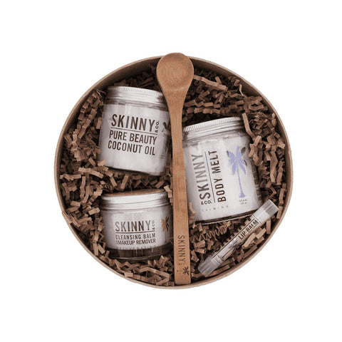SKINNY & CO. Premium Raw Beauty Box - Includes 5 Skinny & Co. Essentials