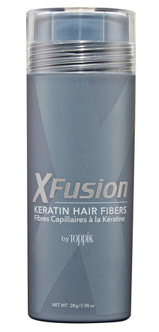 XFusion Economy Size (28g) Keratin Hair Fibers, Light Brown