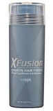 XFusion Economy Size (28g) Keratin Hair Fibers, Medium Brown