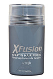 XFusion Regular Size (15g) Keratin Hair Fibers, Medium Brown