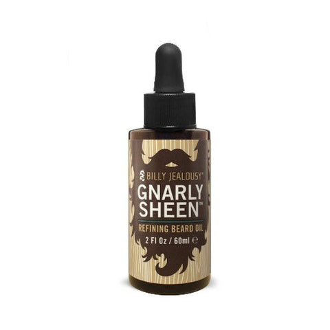 Billy Jealousy Gnarly Sheen Refining Beard Oil, 2 fl oz