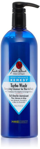 Jack Black Turbo Wash Energizing Cleanser for Face & Body 33 fl oz