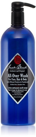 Jack Black All-Over Wash for Face, Hair & Body, 33 oz