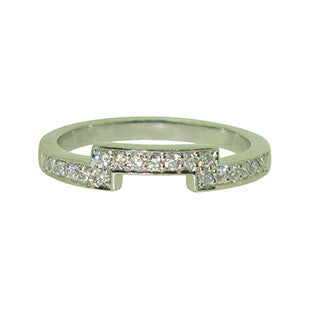 Fitted Half ET in Platinum and Diamonds