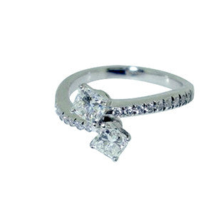 twist diamond ring design bespoke