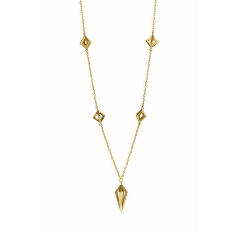 Gold Asaya Necklace