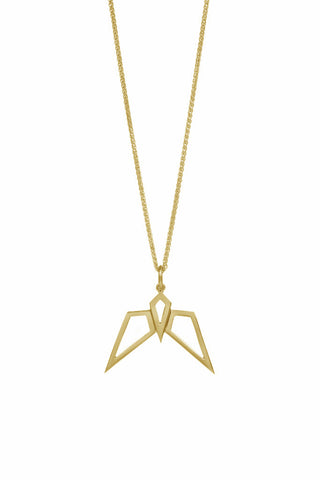 Gold Condor Pendant-Necklaces-London Rocks Jewellery
