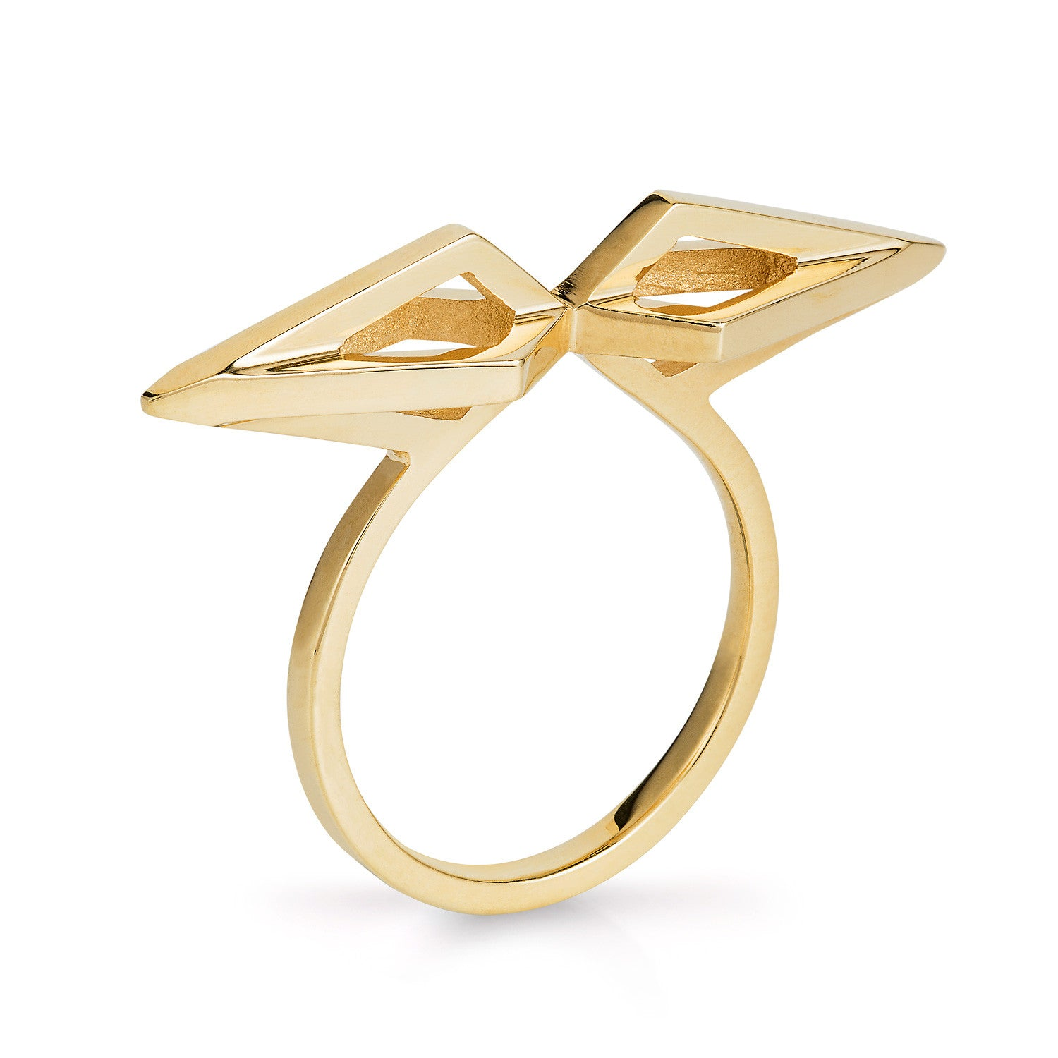 Gold Mini Nucleus Ring