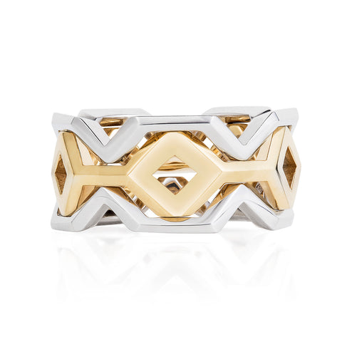 Stacking Metric Ring