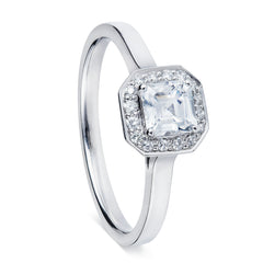 Asscher Cut Diamond Halo