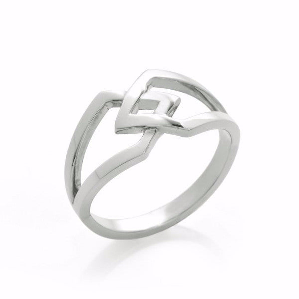 Silver Co-existence Ring