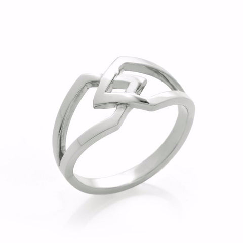 Silver Co-existence Ring-Rings-London Rocks Jewellery