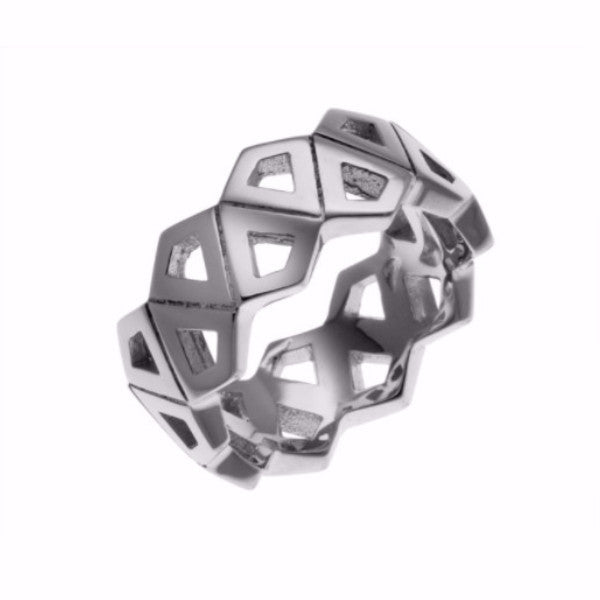 Silver Kite Ring-Rings-London Rocks Jewellery