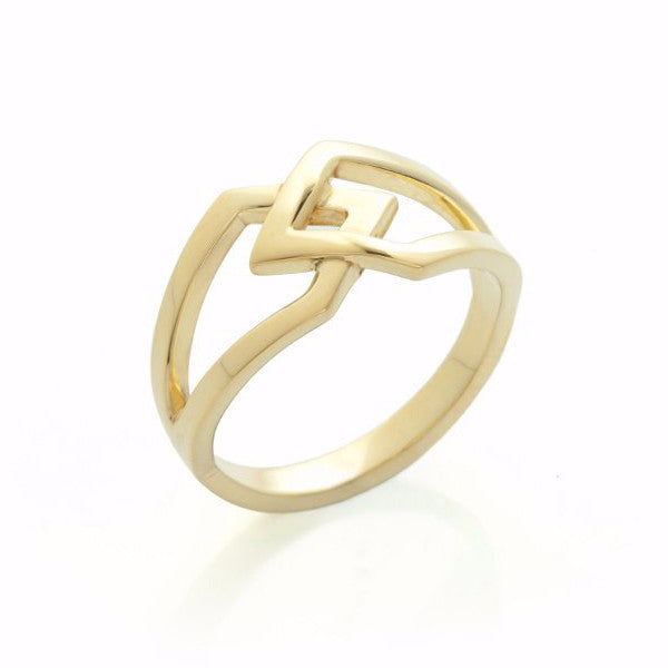 Gold Co-existence Ring-Rings-London Rocks Jewellery