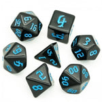 Black Dice w/Blue Numbers