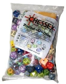 CHX001LB pound of dice in a bag