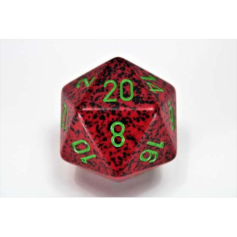 Chessex CHXXS2035 D20 34mm Speckled Strawberry