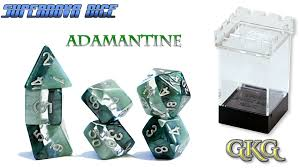 GKG Supernova Adamantine 7-set dice