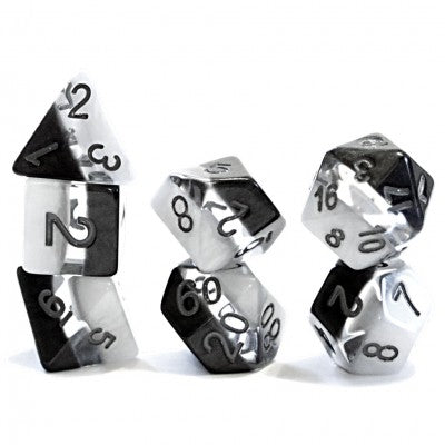 GKG Supernova Yin Yang 7-set dice