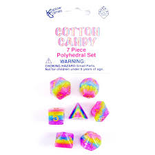 Koplow Cotton Candy 7-set dice