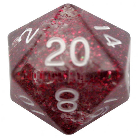 Metallic Dice Games LIC20820 D20 35mm Etheral Light Purple Dice
