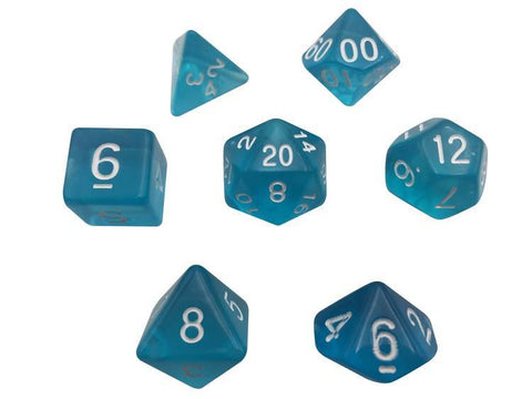 SkullSplitter Translucent Light Blue Dice