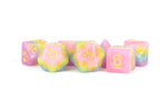 MDG LIC613 Pastel Fairy dice w/ Yellow numbers