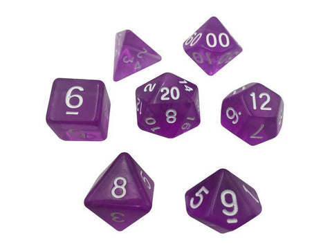 SkullSplitter Translucent Purple Dice