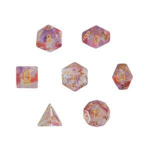 Dice SS Glitter Clear/Red/Purple (StarSong)