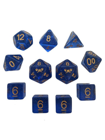 Dice SS Glitter Blue (Star Splitter)