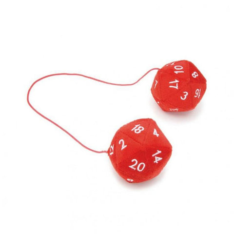 20-sided Plush Dice Dangler