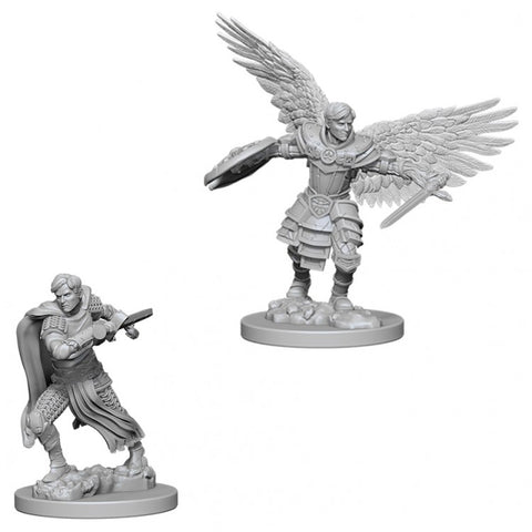 Wizkids WZK73380 D&D: NMU: Male Aasimar Fighter W6