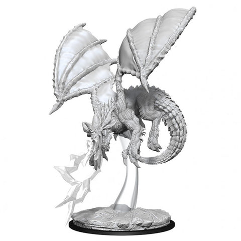 Wizkids WZK73683  D&D: NMU: Young Blue Dragon W8