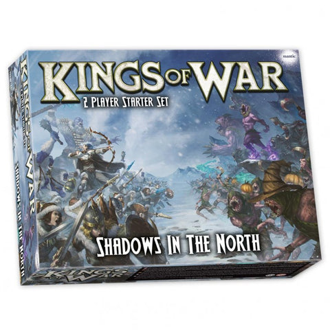 Mantic Entertainment Ltd. MGCWM102 KoW3E: Shadows in the North Starter Set