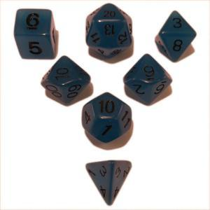 SkullSplitter Blue Glow in the Dark Dice