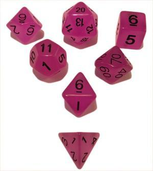 SkullSplitter Purple Glow in the Dark Dice