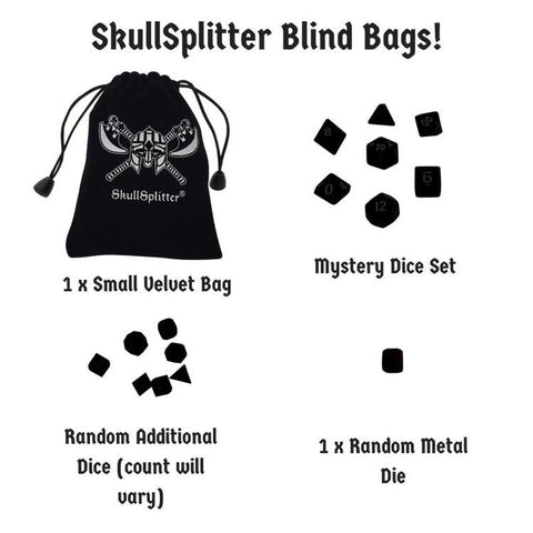 SkullSplitter Mystery Bag of Dice