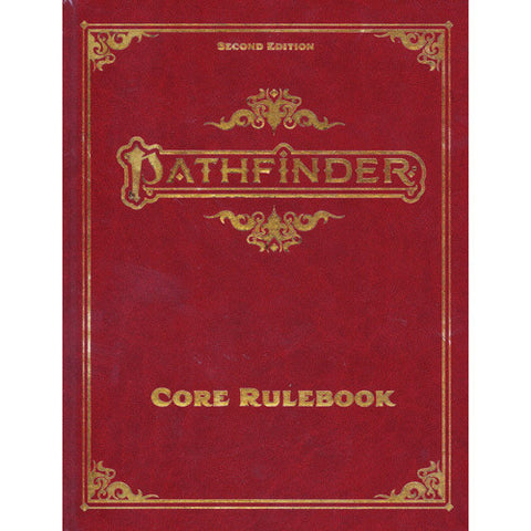 Pathfinder 2nd Ed Core Rulebook SPECIAL EDITION