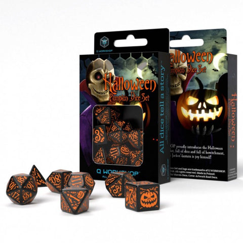 QWorkshop Dice Halloween Dice QWOSHAP69